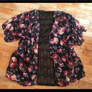 Floral Loose Kimono